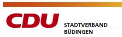 Logo von CDU Büdingen